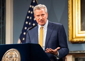 Coronavirus: NYC Mayor Bill de Blasio says at least half a million New Yorkers will be unemployed
