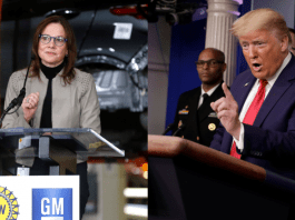 'Open your STUPIDLY abandoned plant': Trump lashes out at GM & Ford over ventilator delay